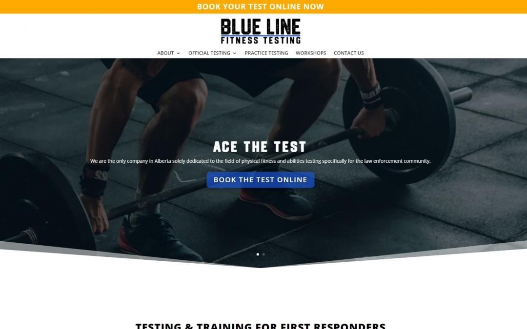 Blue Line Fitness Testing