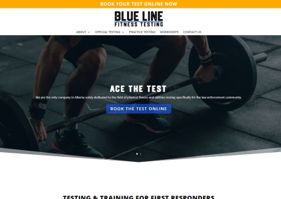 Blue Line Fitness Testing